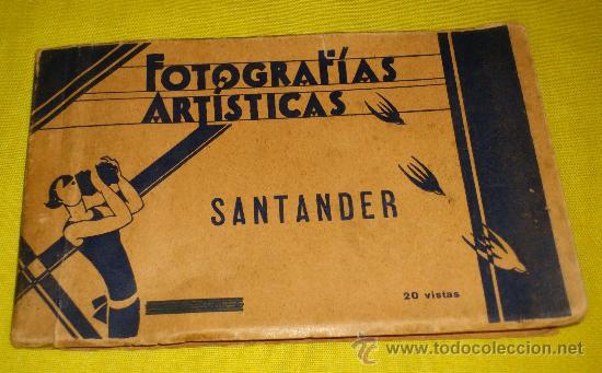 Postales: POSTAL FOTOGRAFICA num 2108., SANTANDER., CALLE DE LA RIVERA Y PUENTE DE VERGAS – Ediciones Unique - Foto 3 - 34513587