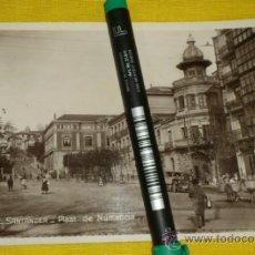 Postales: POSTAL FOTOGRAFICA NUM 2110., SANTANDER., PLAZA DE NUMANCIA – EDICIONES UNIQUE . Lote 34513740