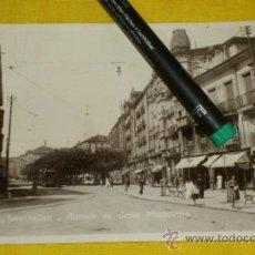 Postales: POSTAL FOTOGRAFICA NUM 2112., SANTANDER., ALAMEDA DE JESUS MONASTERIO – EDICIONES UNIQUE . Lote 34514204