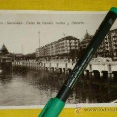 Postales: POSTAL FOTOGRAFICA NUM 2113., SANTANDER., CALLES DE MENDEZ NUÑEZ Y CALDERON – EDICIONES UNIQUE . Lote 34514244