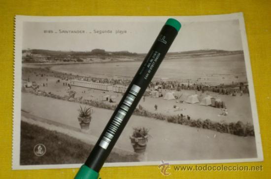POSTAL FOTOGRAFICA NUM 2125., SEGUNDA PLAYA – EDICIONES UNIQUE (Postales - España - Cantabria Antigua (hasta 1.939))