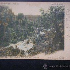 Postales: POSTAL AÑO 1903 REINOSA CANTABRIA NACIMIENTO DEL EBRO EN FONTIBRE. Lote 34681452