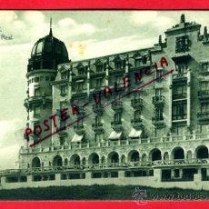 Postales: POSTAL SANTANDER, HOTEL REAL, P74087. Lote 34737664