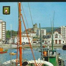 Postales: POSTAL LAREDO, PUERTO, ESCENA TIPICA, DOMINGUEZ, SIN CIRCULAR. Lote 35096292