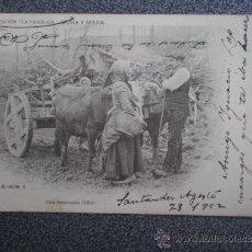 Postales: POSTAL AÑO 1902 SANTANDER COLECCIÓN LA TIERRUCA MORA Y MIERA. Lote 35466144