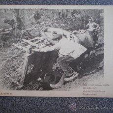 Postales: POSTAL ANTERIOR A 1905 COLECCIÓN LA TIERRUCA MORA Y MIERA FOTO LAURENT. Lote 35588417