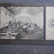 Postales: POSTAL AÑO 1910 COLONIA PENITENCIARIA DEL DUESO TALLER DE CARPINTERÍA. Lote 35590996