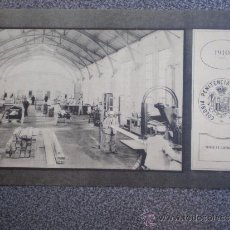 Postales: POSTAL AÑO 1910 COLONIA PENITENCIARIA DEL DUESO TALLER DE CARPINTERÍA 2. Lote 35591007