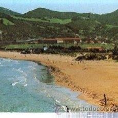 Postales: TARJETA POSTAL SANTOÑA, PLAYA DE BERRIA. Lote 35871764
