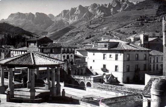POSTAL FOTOGRAFICA DE POTES - REGION DE LIEBANA Y PICOS DE EUROPA - SANTANDER - CANTABRIA (Postales - España - Cantabria Moderna (desde 1.940))