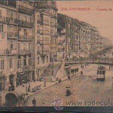 Postales: TARJETA POSTAL DE SANTANDER. 1338. FUENTE DE VARGAS. EDICION PALACIOS. . Lote 35909639
