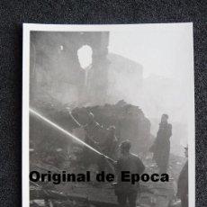 Postales: (JX-799)POSTAL FOTOGRAFICA DE SANTANDER-INCENDIO DEL 15-FEBRERO-1941.FOTO SAMOT. Lote 36289773
