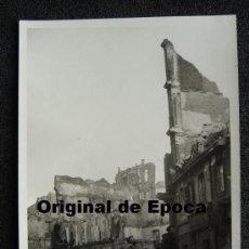 (JX-800)POSTAL FOTOGRAFICA DE SANTANDER-INCENDIO DEL 15-FEBRERO-1941.FOTO SAMOT