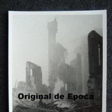 Postales: (JX-801)POSTAL FOTOGRAFICA DE SANTANDER-INCENDIO DEL 15-FEBRERO-1941.FOTO SAMOT. Lote 36289858