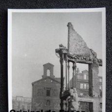 (JX-802)POSTAL FOTOGRAFICA DE SANTANDER-INCENDIO DEL 15-FEBRERO-1941.FOTO SAMOT