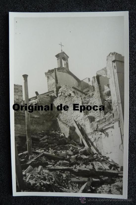 (JX-803)POSTAL FOTOGRAFICA DE SANTANDER-INCENDIO DEL 15-FEBRERO-1941.FOTO SAMOT (Postales - España - Cantabria Moderna (desde 1.940))