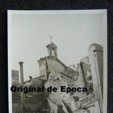 Postales: (JX-803)POSTAL FOTOGRAFICA DE SANTANDER-INCENDIO DEL 15-FEBRERO-1941.FOTO SAMOT. Lote 36289913