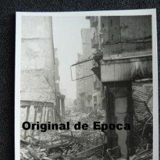 Postales: (JX-804)POSTAL FOTOGRAFICA DE SANTANDER-INCENDIO DEL 15-FEBRERO-1941.FOTO SAMOT. Lote 36289956