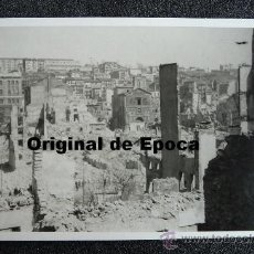 Postales: (JX-807)POSTAL FOTOGRAFICA DE SANTANDER-INCENDIO DEL 15-FEBRERO-1941.FOTO SAMOT. Lote 36290121