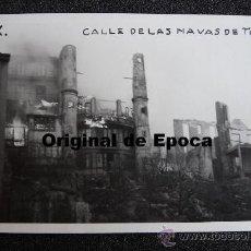 Postales: (JX-808)POSTAL FOTOGRAFICA DE SANTANDER-INCENDIO DEL 15-FEBRERO-1941.FOTO SAMOT. Lote 36290175