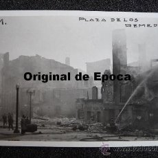 Postales: (JX-809)POSTAL FOTOGRAFICA DE SANTANDER-INCENDIO DEL 15-FEBRERO-1941.FOTO SAMOT. Lote 36290218