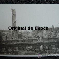 Postales: (JX-810)POSTAL FOTOGRAFICA DE SANTANDER-INCENDIO DEL 15-FEBRERO-1941.FOTO SAMOT. Lote 36290255