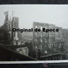 (JX-811)POSTAL FOTOGRAFICA DE SANTANDER-INCENDIO DEL 15-FEBRERO-1941.FOTO SAMOT