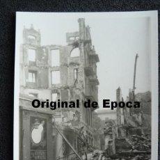 Postales: (JX-813)POSTAL FOTOGRAFICA DE SANTANDER-INCENDIO DEL 15-FEBRERO-1941.FOTO SAMOT. Lote 36290381