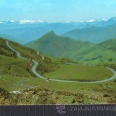 Postales: TARJETA POSTAL DE PICOS DE EUROPA - PUERTO DE SANGLORIO. Nº 126. Lote 36348144