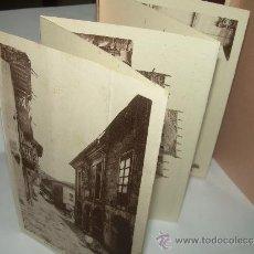 Postales: ANTIGUO BLOC DE POSTALES DE SANTILLANA DEL MAR.. Lote 36443444