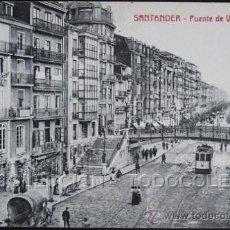 Postales: POSTAL SANTANDER PUENTE DE VARGAS . SANTIAGO ROMO CA AÑO 1920 .. Lote 36718885