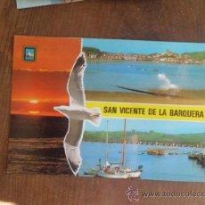 Postales: POSTAL SAN VICENTE DE LA BARQUERA CANTABRIA DIVERSOS ASPECTOS S/C A-248. Lote 36606836