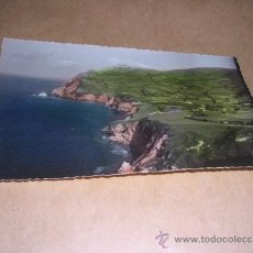 Postales: 6.- LAREDO - ACANTILADO EDC. ALARDE CIRCULADA 1958 - 14X9 CM. ILUMINADA CON ANILINAS . Lote 36660810