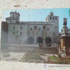 Postales: POSTAL SANTANDER PLAZA DE LA ASUNCION Y CATEDRAL ESCRITA CON SELLO A-286. Lote 36724007