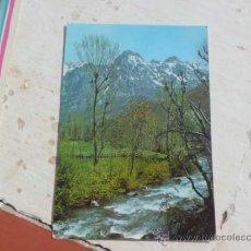Postales: POSTAL PICOS DE EUROPA RIO CARES Y TORRES DEL MACIZO CENTRAL S/C A-330. Lote 36826898