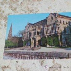 Postales: POSTAL COMILLAS SANTANDER PALACIO DEL MARQUES DE COMILLAS S/C A-360. Lote 37100506