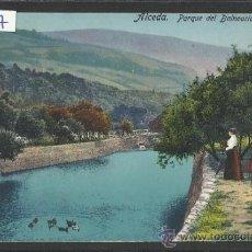 Postales: ALCEDA - PARQUE DEL BALNEARIO - FUERTES - (16967). Lote 38094513