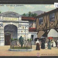 Postales: ALCEDA - ENTRADA AL BALNEARIO - FUERTES - (16968). Lote 38094528