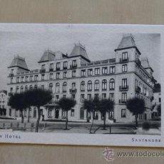 Postales: GRAN HOTEL. SANTANDER. ANTERIOR A 1905. F. MESAS. ARTE. BILBAO.. Lote 38097777