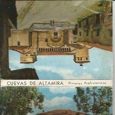 Postales: ** TPP02 - TIRA DE 12 POSTALES - 10 X 7 CM. - CUEVAS DE ALTAMIRA. Lote 38452938