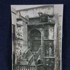 Postales: POSTAL FOTOGRÁFICA SIN CIRCULAR SANTANDER SUBIDA A LA CATEDRAL IGLESIA CRISTO G.H. ALSINA MADRID 10. Lote 114753979