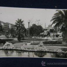 Postales: POSTAL FOTOGRÁFICA SIN CIRCULAR SANTANDER JARDINES DEL PASEO DE PEREDA G.H. ALSINA MADRID 8. Lote 38999453