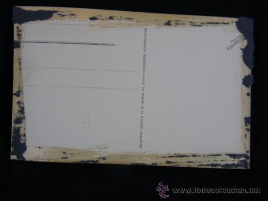 Postales: postal fotográfica sin circular Santander bibliotecas: M.Pelayo y Municipal G.H. Alsina Madrid 13 - Foto 2 - 38999244