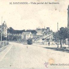 Postales: PS0912 SANTANDER 'VISTA PARCIAL DEL SARDINERO'. SIN REFERENCIAS Y SIN CIRCULAR. Lote 39293115