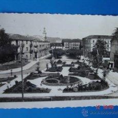 Postales: ANTIGUA POSTAL FOTO DEL BULEVAR DEMETRIO HERRERO DE TORRELAVEGA (CANTABRIA).. Lote 39449989