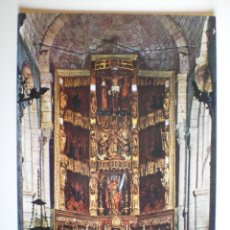 Postales: SANTILLANA DEL MAR. COLEGIATA (ALTAR MAYOR). ED. GARCÍA GARABELLA Y CÍA. Nº 79. SIN CIRCULAR.. Lote 39534952