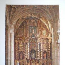 Postales: SAN VICENTE DE LA BARQUERA. ALTAR MAYOR STA MARÍA. ED. GARCÍA GARABELLA Y CÍA. Nº 338. SIN CIRCULAR. Lote 39535006