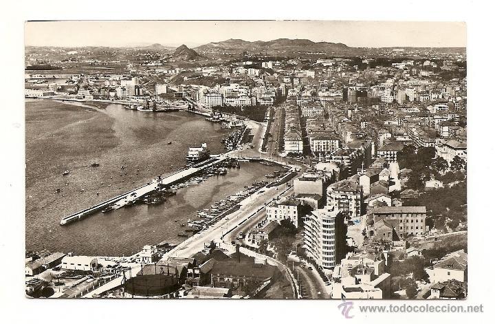 SANTANDER-VISTA PARCIAL AEREA-DOMINGUEZ-MADRID-FISA (Postales - España - Cantabria Moderna (desde 1.940))