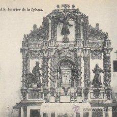 Postales: LIMPIAS. INTERIOR DE LA IGLESIA, EDITOR NO LO DICE. Lote 39828445