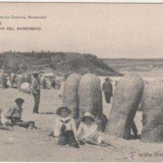 Postales: SANTANDER.- 1.ª PLAYA DEL SARDINERO. Lote 40019651